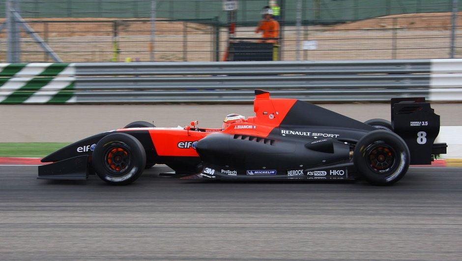 World Series Renault : week-end mitigé pour Bianchi à Spa