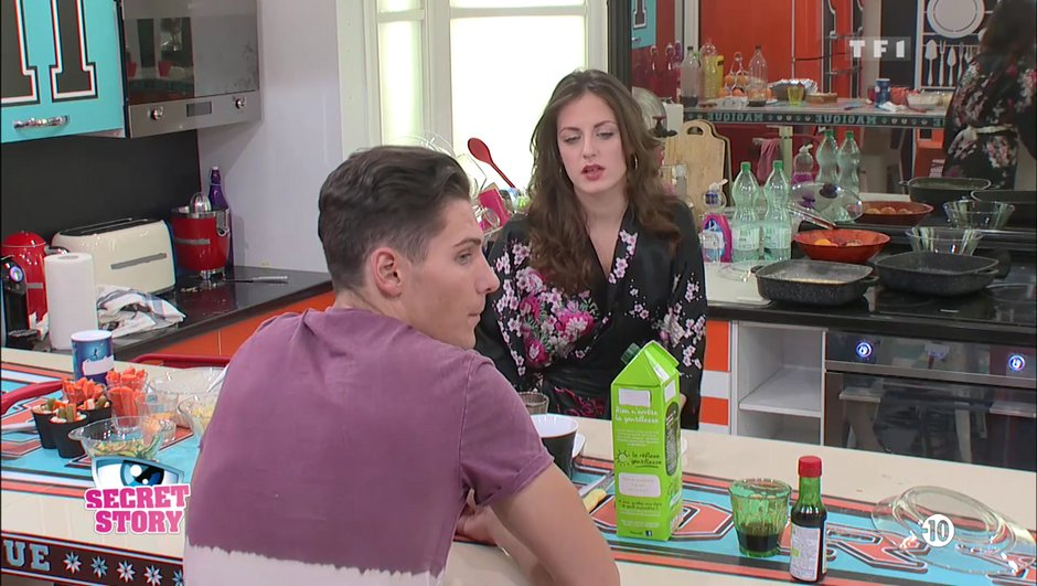 Secret Story 11 : Julie et Bryan… après le clash une mise au point s'impose