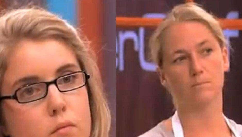 Christelle et Julie éliminées de MasterChef