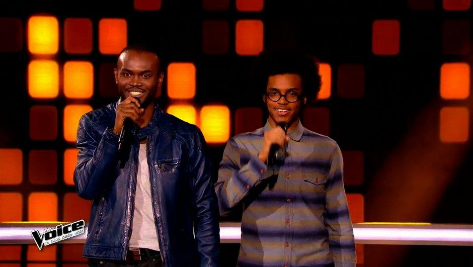 The Voice 4 - Alvy Zamé remporte la battle du groove face à Julien