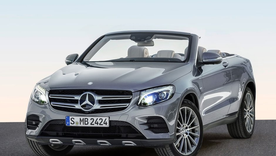 Mercedes-Benz GLC : à quand la version cabriolet ?