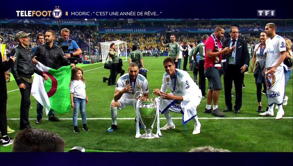 """[EXCLU Téléfoot – 9/12] - Modric sur Benzema : """"Les gens ne se rendent pas compte de son importance pour le Real"""""""