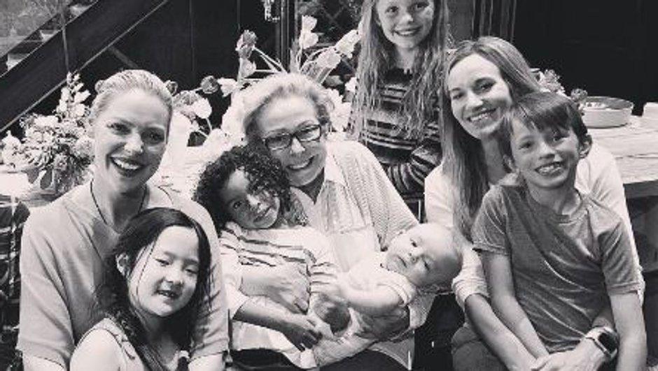 La belle déclaration de Katherine Heigl pour la fête des mères