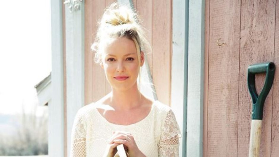 Katherine Heigl, future maman rayonnante au naturel