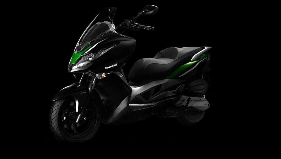 Kawasaki J300 2014 : premier scooter pour le Japonais