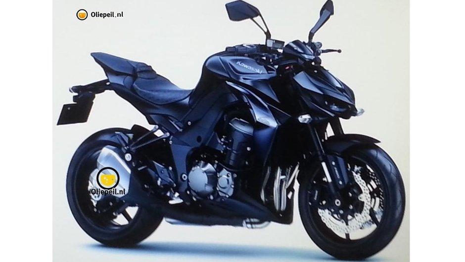 Kawasaki Z1000 2014 : photo en fuite du roadster