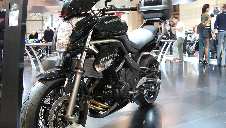 Salon de Milan 2008 : KAWASAKI ER-6N Version 2009