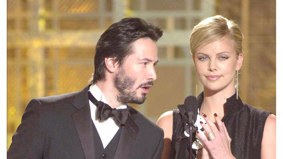 Charlize Theron et Keanu Reeves, couple officiel, ou presque...