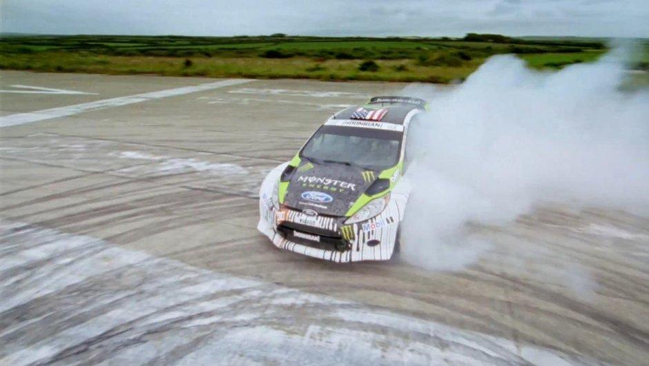 "Vidéo : Ken Block et sa Ford Fiesta RS WRC ""hybride"""