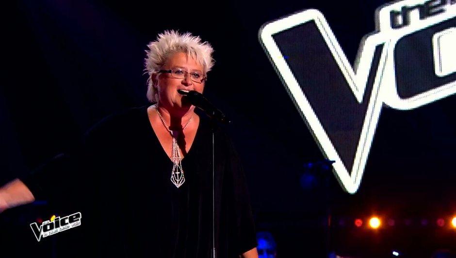The Voice 4 : A 56 ans, Ketlyn a réussi à retourner Florent Pagny (Vidéo)