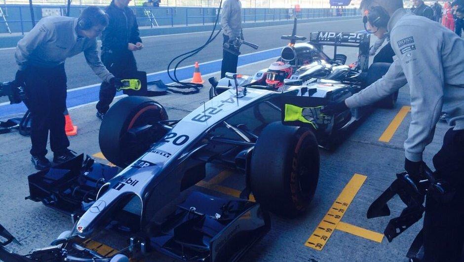 F1 2014 - Essais Jerez J3 : McLaren en avant avec Magnussen
