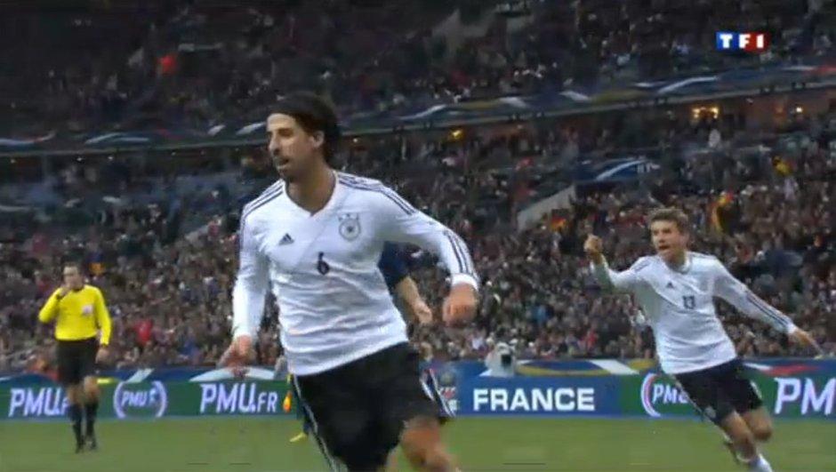 France 1-2 Allemagne : But de Khedira ! (vidéo)