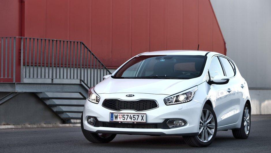 Kia cee'd 2012 : zoom sur les moteurs