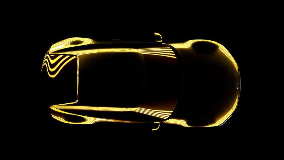 Kia annonce un concept-car de coupé sportif au Salon de Detroit 2014