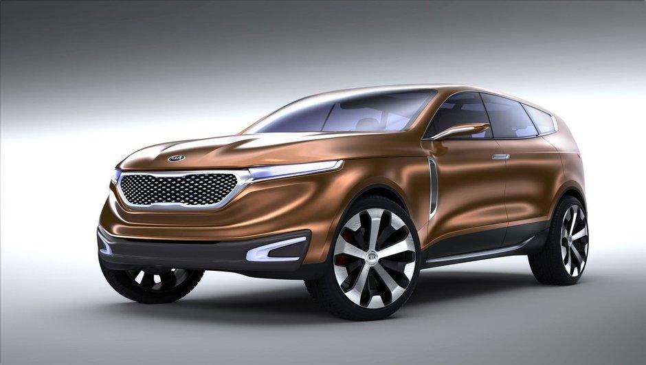 Salon de Chicago 2013 : Kia Cross GT Concept, le crossover XXL