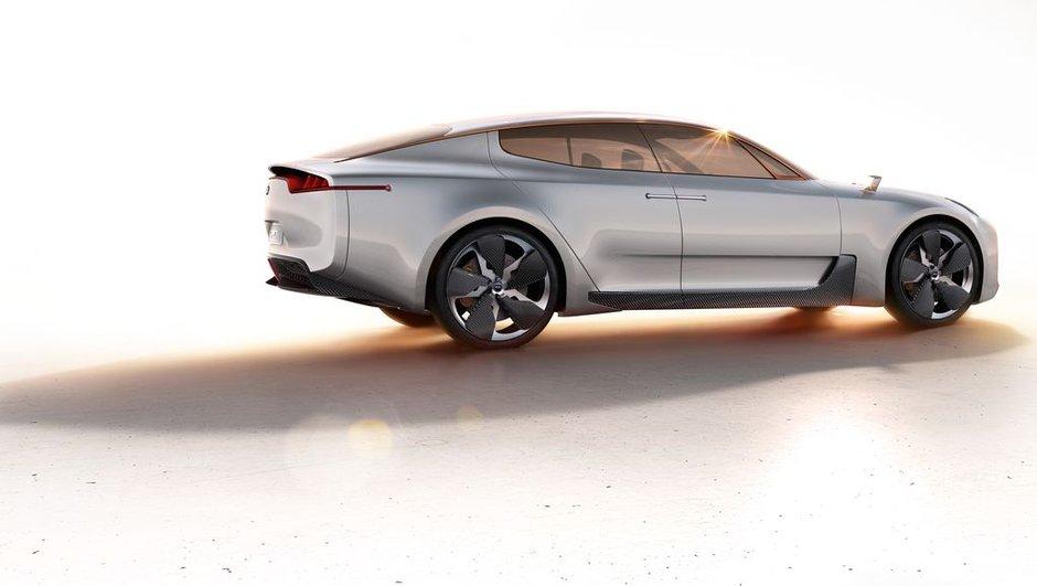 Salon de Francfort 2011 : Kia GT Concept, magnifique berline !