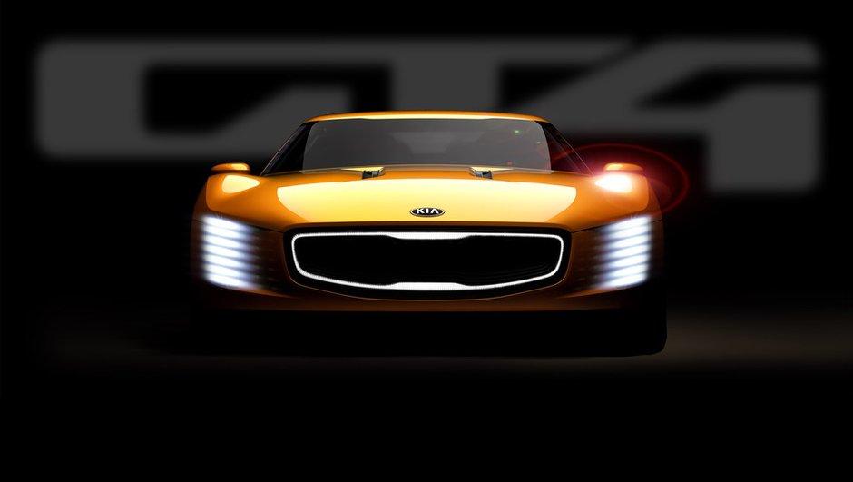 Salon de Detroit 2014 : le Kia GT4 Stinger Concept s'affiche en image