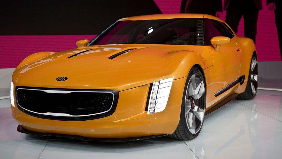 Salon de Detroit 2014 : Kia GT4 Stinger Concept, un futur copué sportif ?