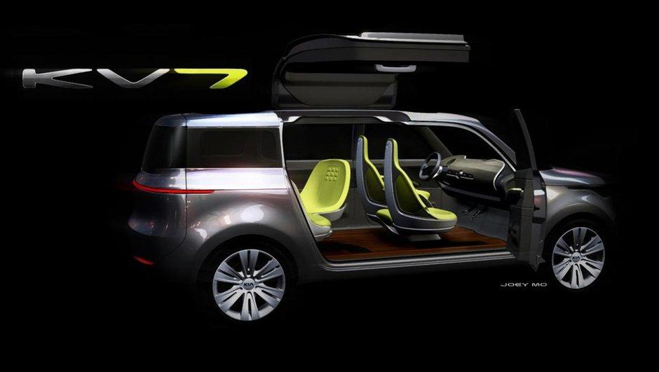 KIA KV7, un concept-car pour le Salon de Détroit