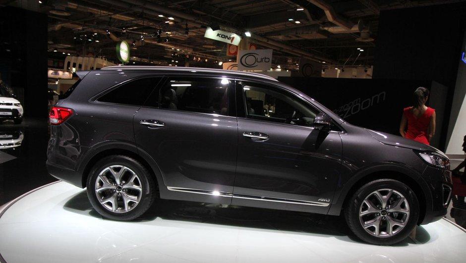Mondial de l'Automobile 2014 : Nouveau Kia Sorento, un SUV encore plus haut de gamme
