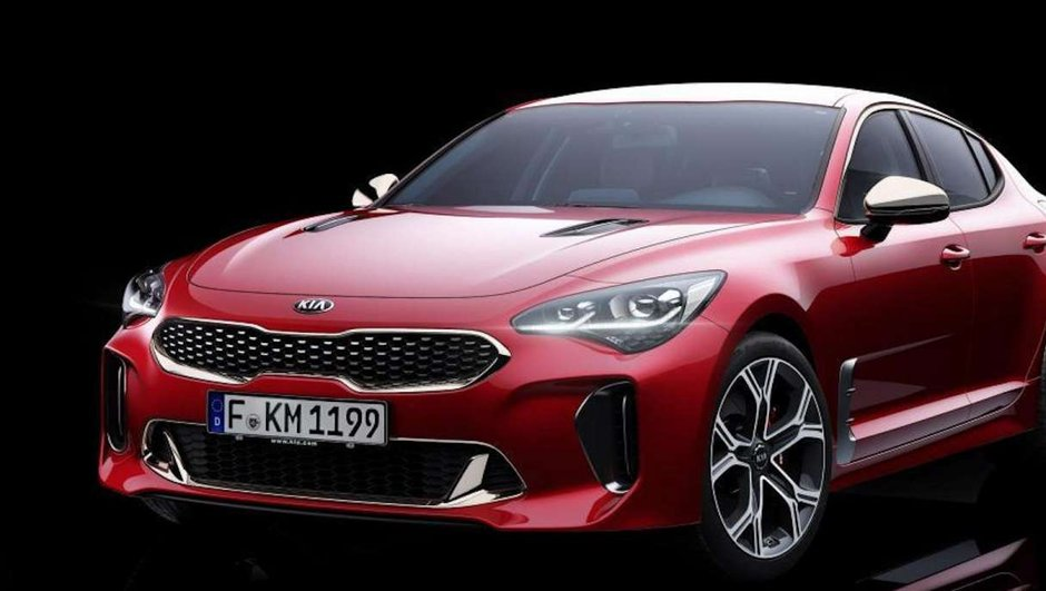 Salon de Detroit 2017 : La Kia Stinger GT officialisée