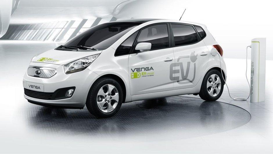 Le Kia Venga électrique débarquera en 2012
