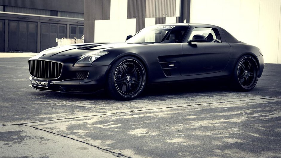 Tuning : Kicherer sublime la Mercedes SLS AMG