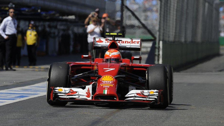 F1 2014 : Räikkönen veut une Ferrari plus adaptée à son pilotage