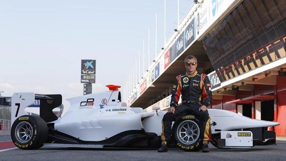 F1 - Raïkkönen au volant d'une GP3