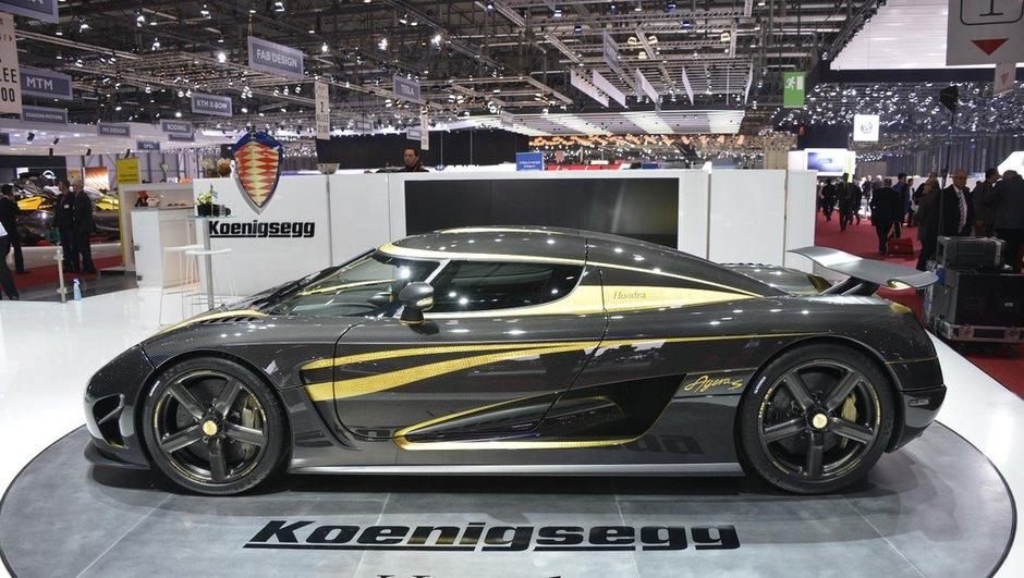 Salon de Genève 2013 - Live : Koenigsegg Agera S Hundra, pur bijou