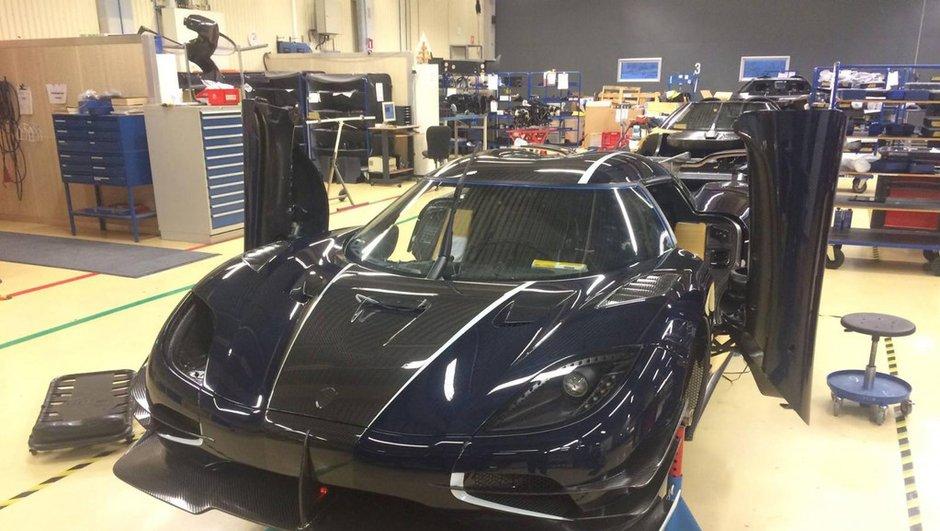 Koenigsegg One 1 RHD : découvrez les premières photos de l'hypercar
