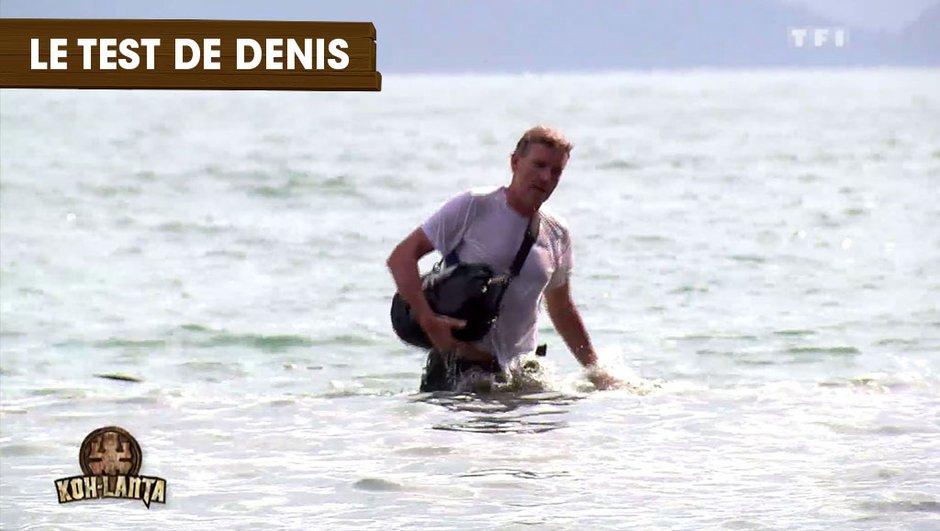 Koh-Lanta Thaïlande : Denis Brogniart teste une épreuve en exclusivité !