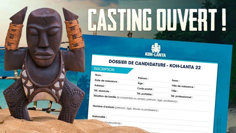 Koh-Lanta 22 : le casting de la prochaine saison est ouvert