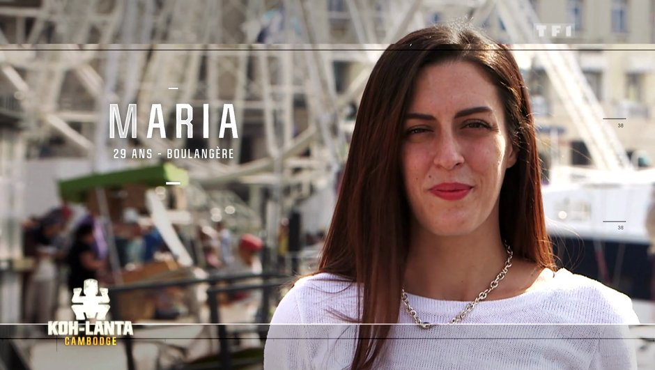 Qui est Maria, nouvelle aventurière de l'émission ?