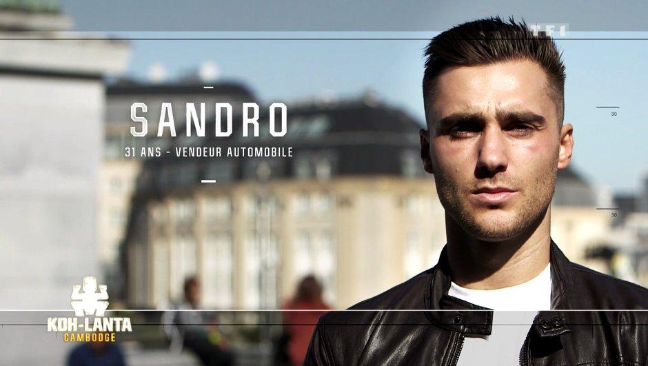 Qui est Sandro, nouvel aventurier de l'émission ?