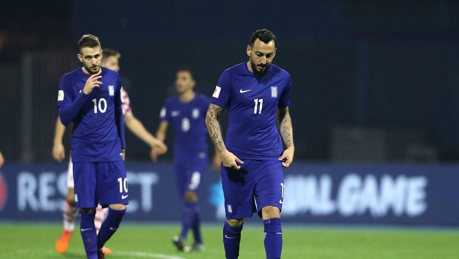 Barrages Mondial 2018 - Grèce : Kostas Mitroglou doit enfiler son costume d'Hercule