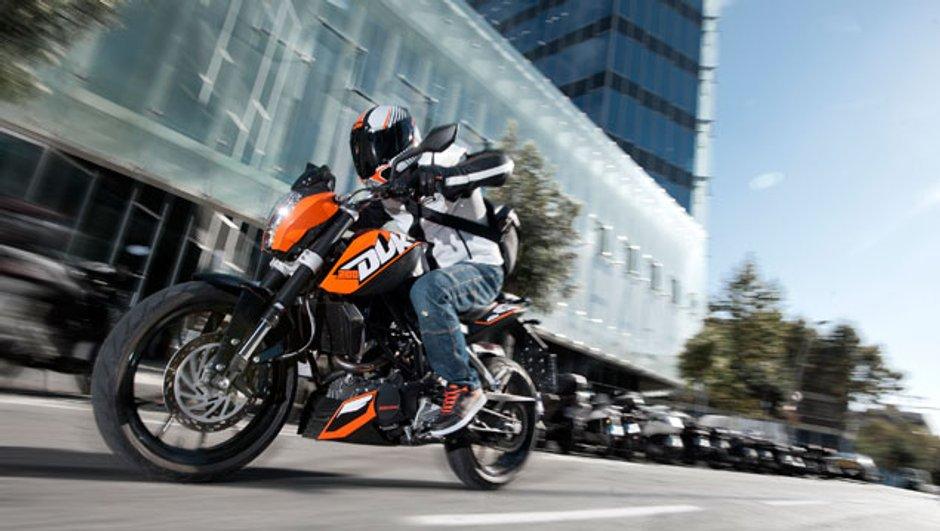Salon de Milan : KTM 200 Duke 2012