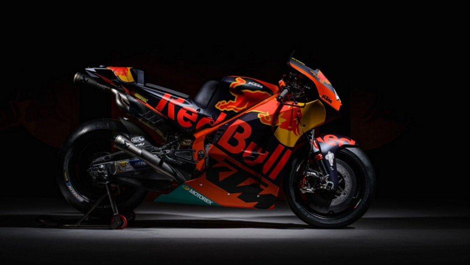 MotoGP 2017 : KTM révèle la sublime RC16