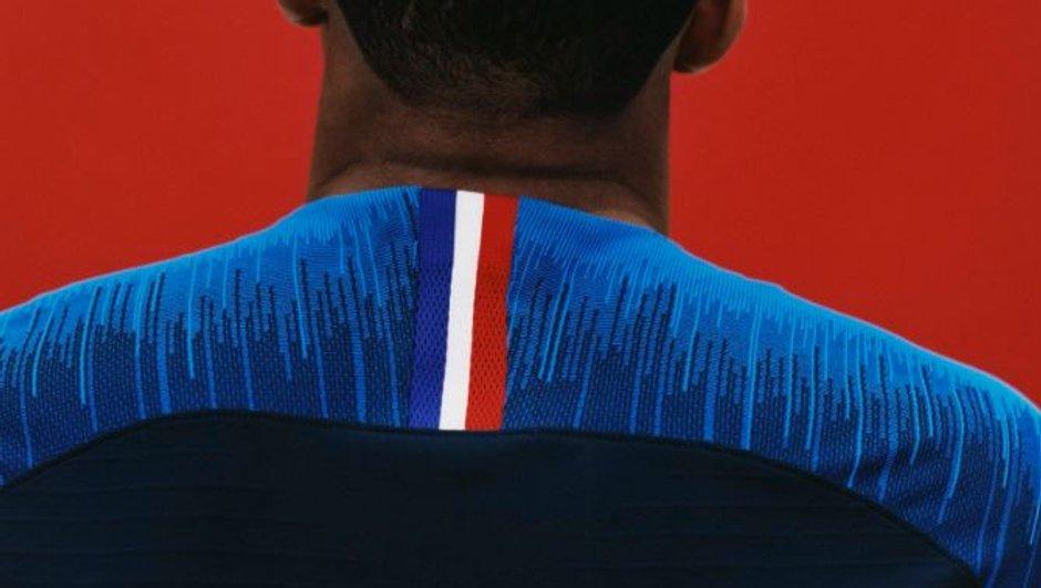 Coupe du monde 2018 / Equipe de France - Le nouveau maillot des Bleus dévoilé