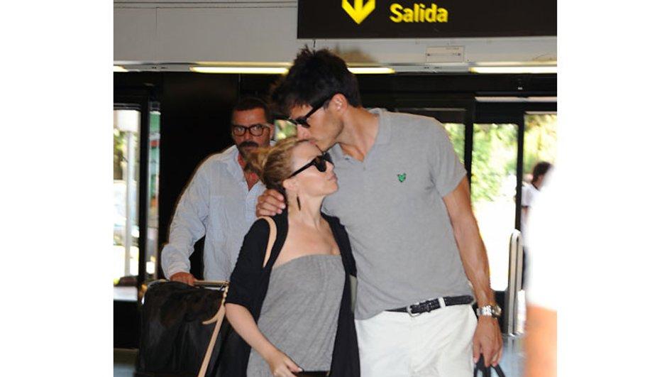 Trop mignons : Kylie Minogue et son chéri Andres Valencoso