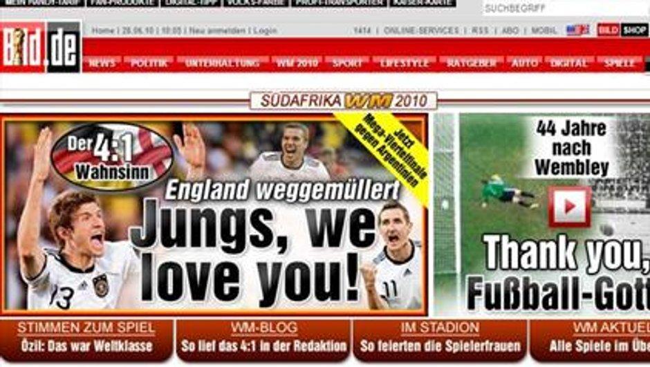 """L'Allemagne """"amoureuse"""" de son équipe"""