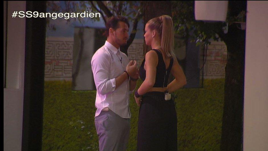 Emilie remercie Rémi d'avoir protégé son secret
