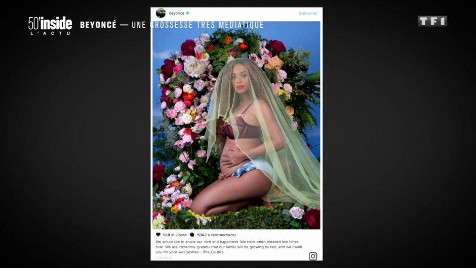 Beyoncé : sa grossesse ultra médiatisée