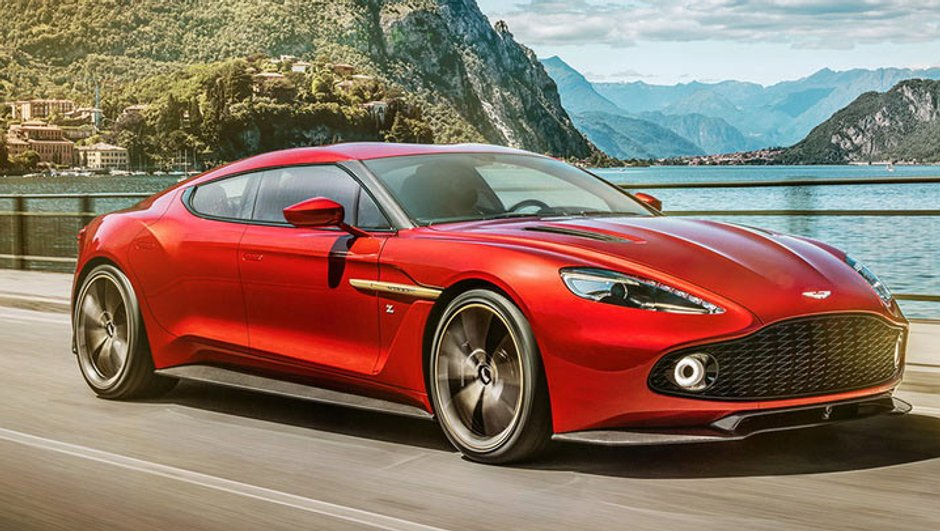Design : Une Aston Martin Vanquish Zagato quatre portes ?