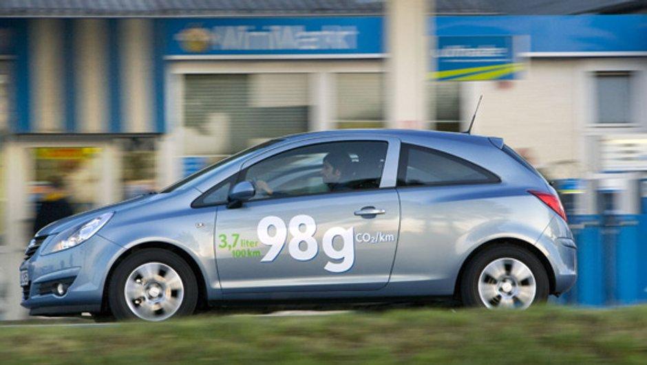 L'Opel Corsa ecoFLEX sous la barre des 100 g/km de CO2