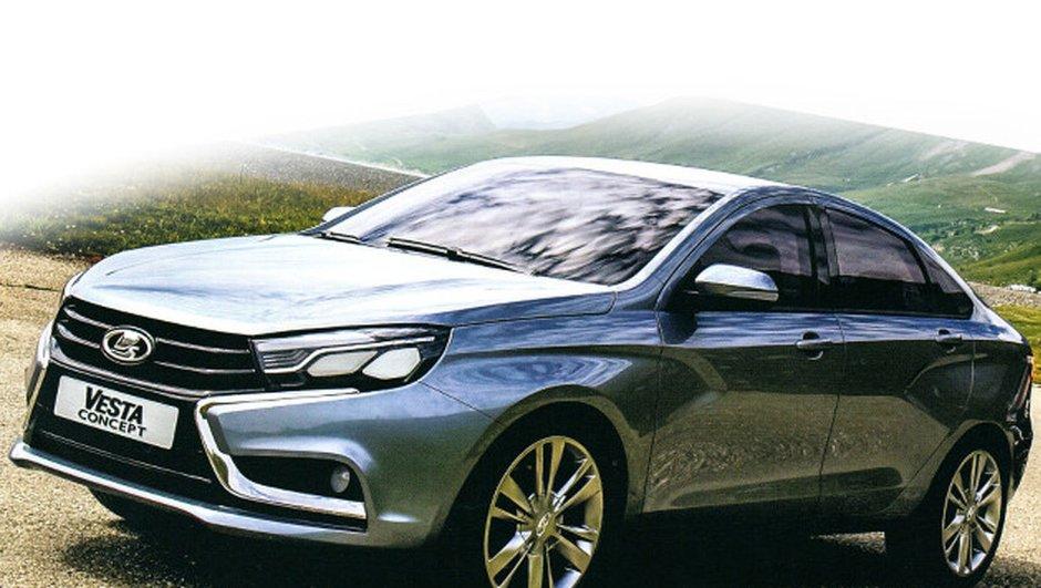 Salon de Moscou 2014 : Lada présente ses concept-cars Vesta et Xray 2
