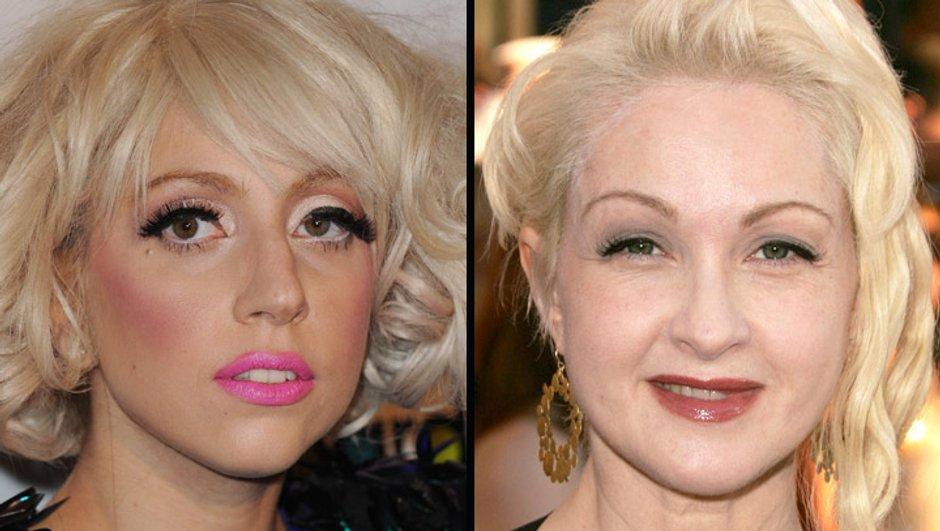 Lady Gaga et Cindy Lauper nouvelles égéries du maquillage MAC