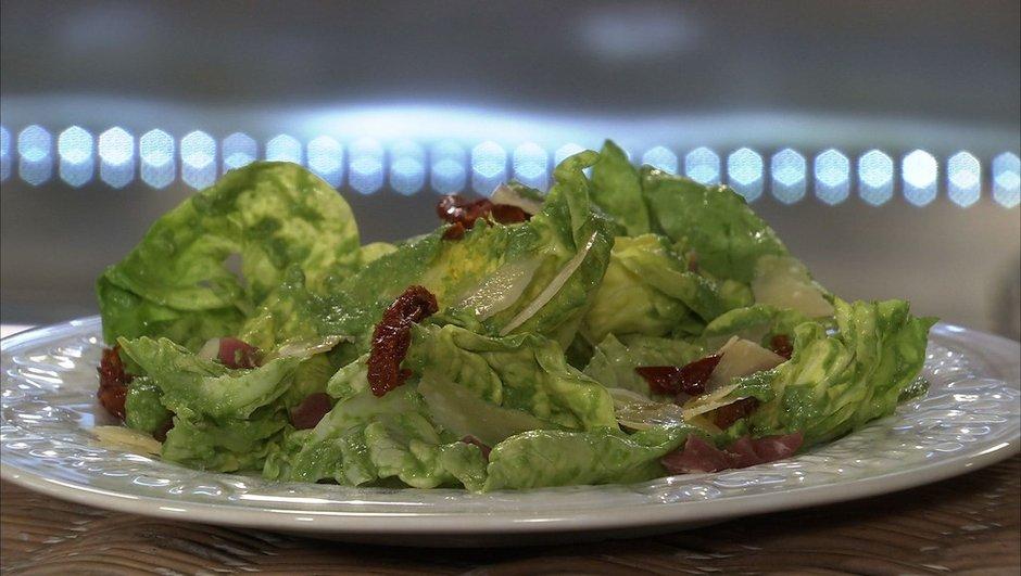Salade de laitue à l'italienne