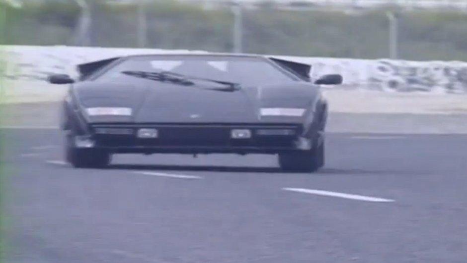Archives Automoto: L'essai de la Lamborghini Countach de 1988
