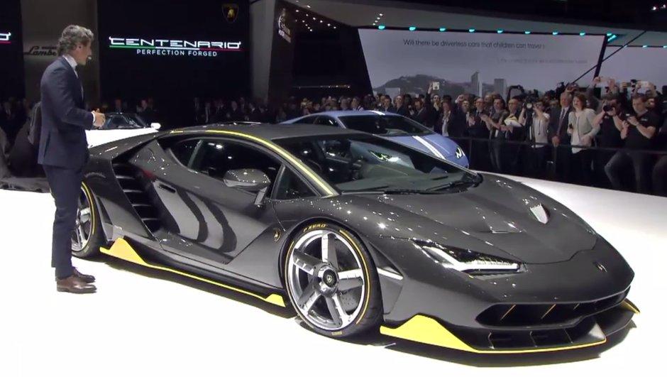 Salon Genève 2016 : Lamborghini Centenario, 40 monstres pour Ferruccio